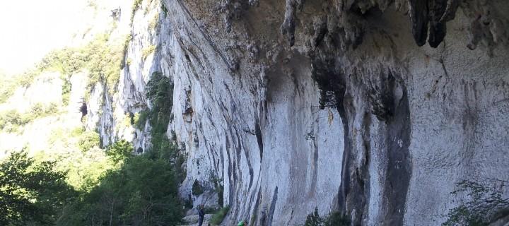 Les Branches, gorges de l'Ardèche (Francia)