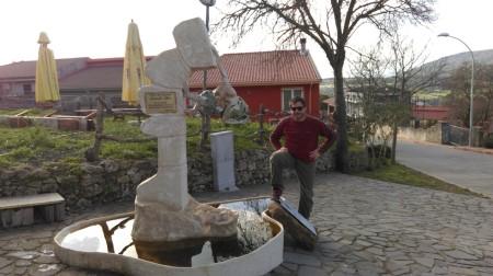 La statua per Oviglia