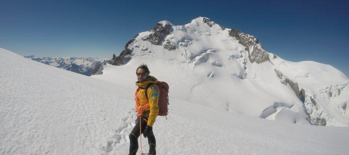 Cresta Kuffner al monte Maudit